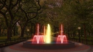 Fountain Set President 1 Lighting