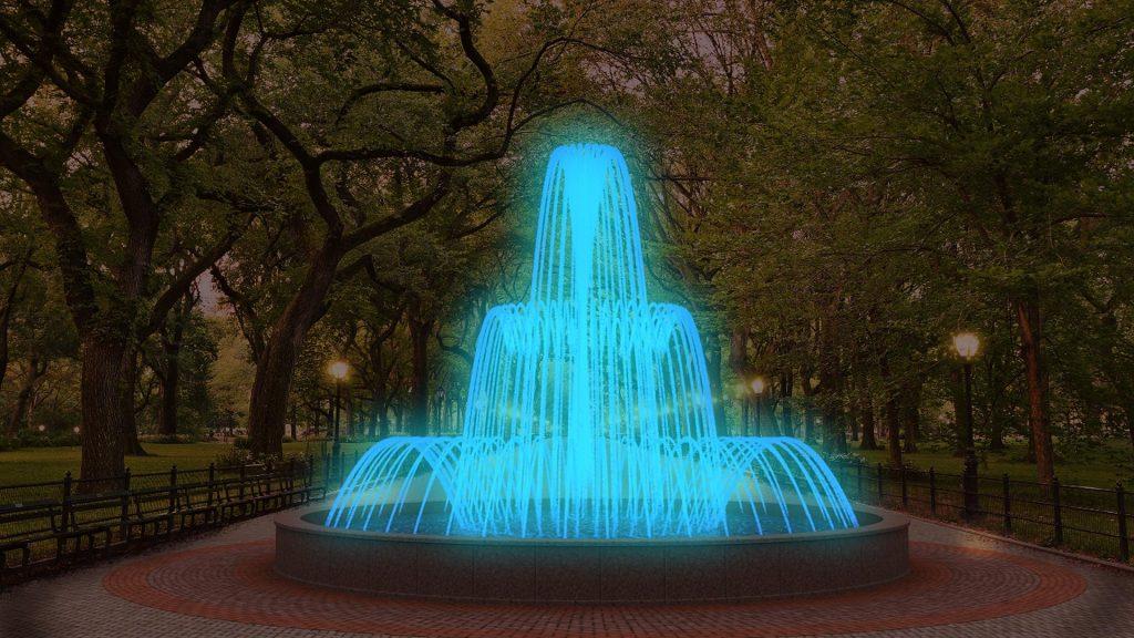 Fountain Set Whisper 3 Lighting